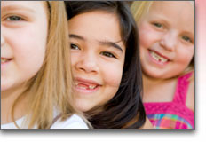 Childcare Lehigh Valley - three happy children