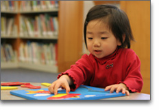 Childcare Toddlers - Photo of cute toddler learning